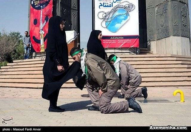 حجاب و تحقیر مردان